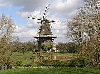 Welsum, Olst-Wijhe village in Overijssel, Netherlands
