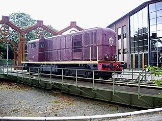 Railway turntable - Railway Museum (Spoorwegenmuseum) in Utrecht