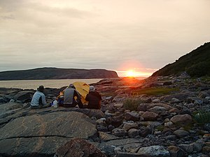 2700 LK Sunset on Ungava Bay.jpg