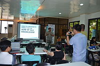 2nd Waray Wikipedia Edit-a-thon 10.JPG