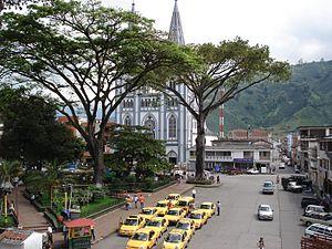 Chinchiná, Caldas - Image: 303 Chinchina town square