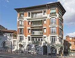 31 - Toulouse - Immeuble situé 4 square Boulingrin - MériméePA31000106.jpg
