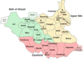 32 States of South Sudan (2017).png