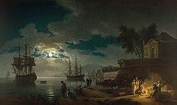 Claude-Joseph Vernet: A Mediterranean Port