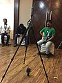 360º video recording and audio recording during Odia Wikipedia 16.jpg