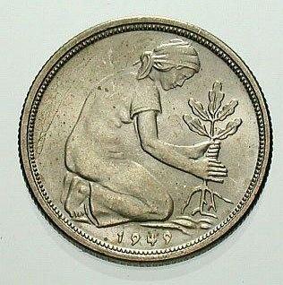 50Pfennig1949 reverse