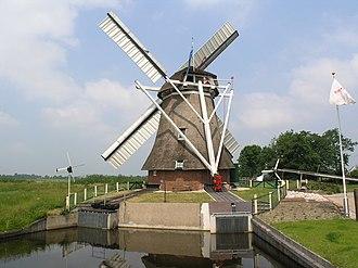 Grootegast - Wind mill in Sebaldeburen