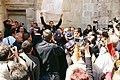 5 001.Demonstration of Palestinian people against the walk of Jesus, Jerusalem 2005.jpg