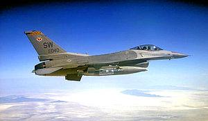 79th Fighter Squadron - Image: 79th Fighter Squadron Lockheed F 16C Block 50 Fighting Falcon 94 0049