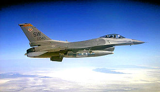 79th Fighter Squadron - Image: 79th Fighter Squadron Lockheed F 16C Block 50 Fighting Falcon 94 0049