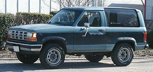 Ford Bronco II - 1989-1990 Ford Bronco II XLT