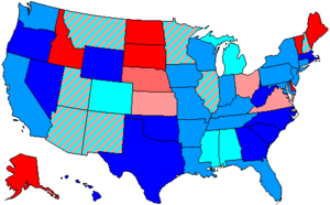 95th United States Congress - Image: 95 us house membership