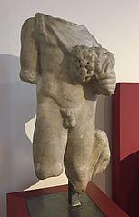 Statuette de Silvain, divinité italique des bois et des champs