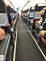 Aéroport Olbia - intérieur avion EsayJet - juillet 2017.JPG