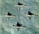 A-4C Skyhawks VA-66 in flight c1961.jpg