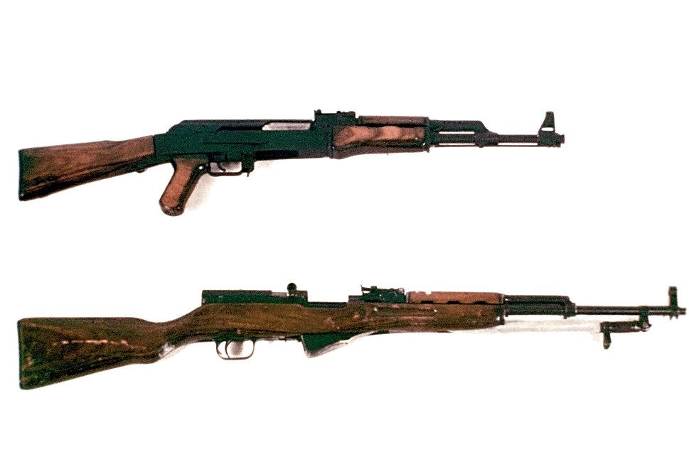 AK-47 and SKS DD-ST-85-01268