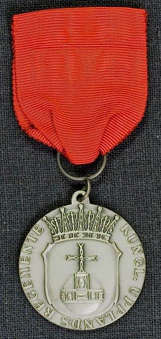 Uppland Regiment - Image: AM.085207