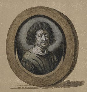 Claude Lorrain - Claude Gellée, le Lorrain, perhaps a self-portrait, after Sandrart. Frontispiece to the Liber Veritatis