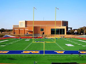 Angelo State Rams - Legrand Football Stadium