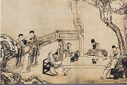 A Night Banquet at Peach and Plum Garden in Spring.jpg