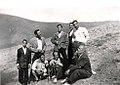 A group of people outdoors of Malayer, Iran - 1971.jpg