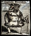 A monkey dressed up like a gentleman. Etching with engraving Wellcome V0023057.jpg