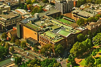 Australian Museum - A view of Australian Museum from Sydney Tower on Feb 16, 2019