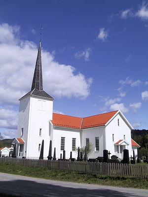 Åsnes Church - Image: Aasnes kirke