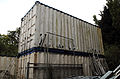 Abandoned containers at Hatfield Broad Oak Essex England.JPG
