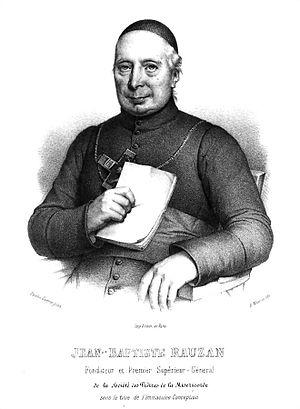 St. Vincent de Paul Church (Manhattan) - Abbé Jean-Baptiste Rauzan, the founder of the Fathers of Mercy