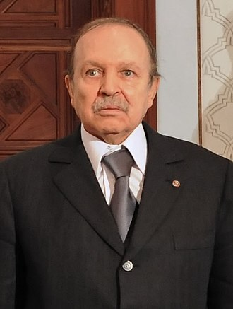 2019 Algerian protests - Abdelaziz Bouteflika, president of Algeria since 1999.