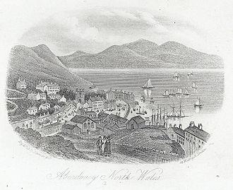 Aberdyfi - Aberdyfi, 1860