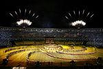 Ceremonia de apertura de los Juegos Panamericanos Río de Janeiro 2007.