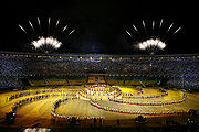 Opening ceremony of the 15th Pan Am Games.