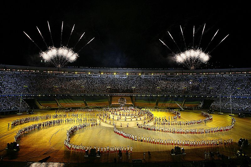 Ficheiro:Abertura Jogos Panamericanos 1 13072007.jpg
