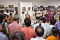 Abhoy Nath Ganguly Expressing Vote of Thanks - 43rd PAD Group Exhibition Inauguration - Kolkata 2017-06-20 0308.JPG