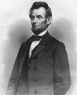 Abraham Lincoln, president of the United State...