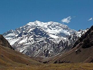 Der Cerro Aconcagua im November 2004