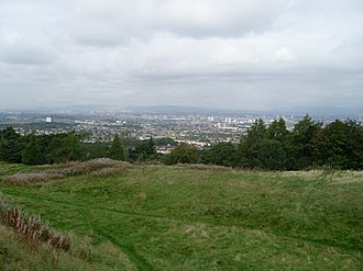 Cathkin Braes - Looking north over Glasgow