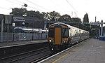 Acton Main Line - GWR 387152 and Heathrow Express 332013.JPG
