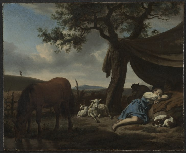 Adriaen van de Velde - Sleeping Shepherds - 1966.12 - Cleveland Museum of Art