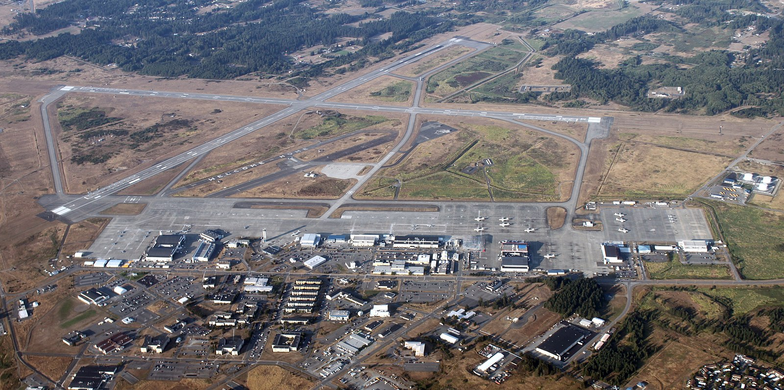военная база фото сверху