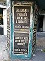 Afiches callejeros sobre la cuarentena.jpg