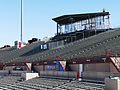 Aggie Memorial Stadium - East Side Stands & Skybox Construction 02.JPG