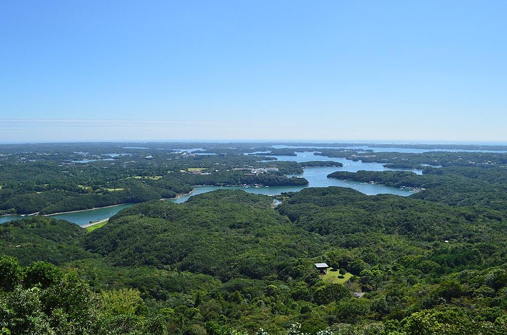 Ago Bay viewed from Yokoyama Viewpoint