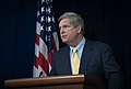 Agriculture Secretary Tom Vilsack speaks before signing a Memorandum of Understanding (MOU) with U.S. dairy leaders, during the Innovation Center For U.S. Dairy Sustainability Council Meeting on Wednesday, Apr. 24, 2013.jpg