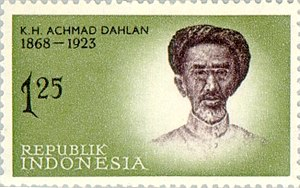Ahmad Dahlan - Stamp of Indonesia, 1962