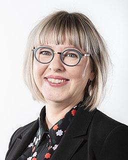Aino-Kaisa Pekonen Finnish politician