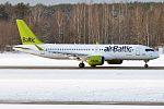 Air Baltic, YL-CSA, Bombardier CS300 (30609837693).jpg