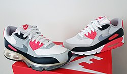 sneakers for cheap bb5ff c0b0a Air Max 90 360 Hybrid (2006) next to the original Air Max 90 (1990) in the  original